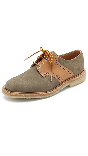 Mark McNairy New Amsterdam Saddle Derby Shoes