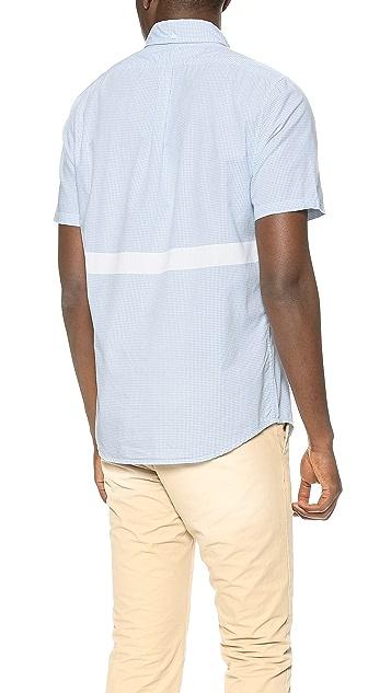 M.Nii San O Check Woven Shirt