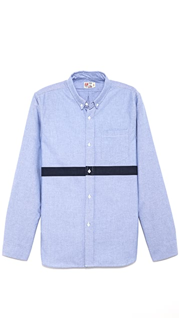 M.Nii San O Stripe Long Sleeve Shirt