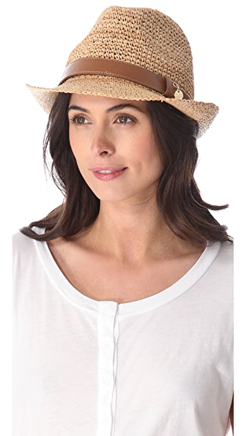 Melissa Odabash Cameron Panama Hat