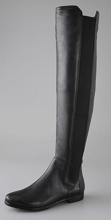 Modern Vintage Shoes Bernadette Over the Knee Boots