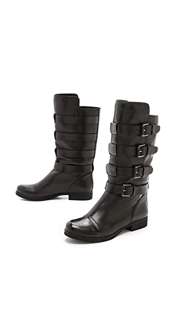 Modern Vintage Shoes Opheliah Multi Strap Boots