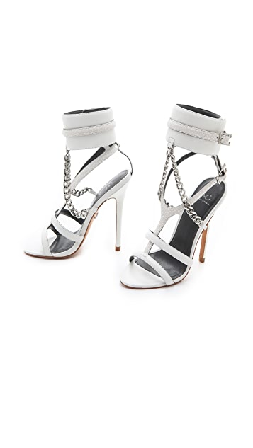Monika Chiang Domina Chain Cuff Sandals