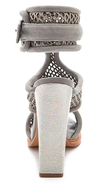 Monika Chiang Faiza Cuff Sandals