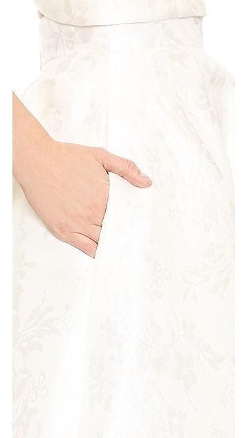 Monique Lhuillier Emmy Tea Length Skirt