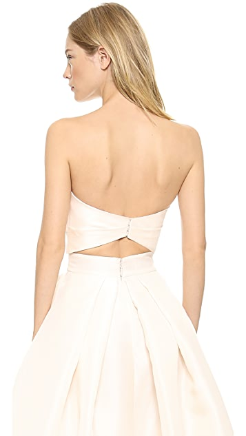 Monique Lhuillier Capri Bandeau Top