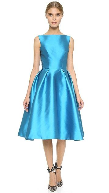 Monique Lhuillier Structured Sleeveless Dress