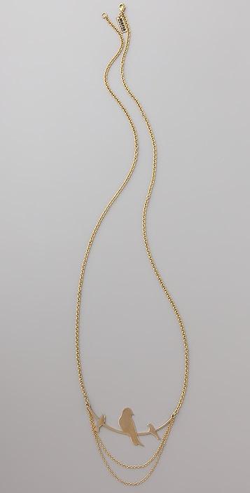 Monserat De Lucca 3 Birds on a Branch Necklace