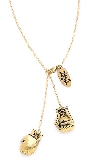 Monserat De Lucca Boxing Gloves Necklace