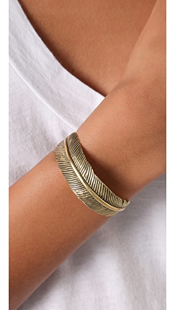 Monserat De Lucca Feather Cuff
