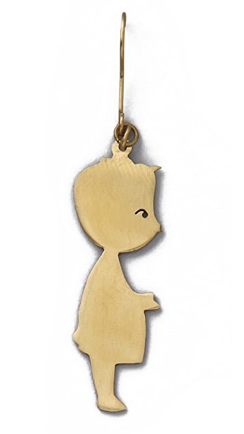 Monserat De Lucca Boy & Girl Earrings