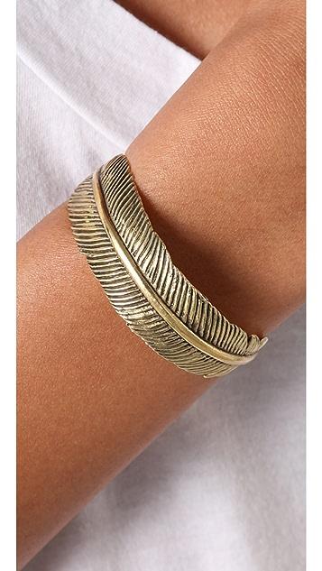 Monserat De Lucca Feather Bracelet