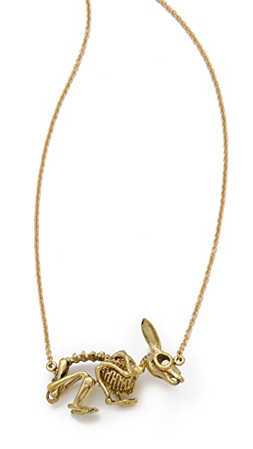 Monserat De Lucca Jack Rabbit Necklace