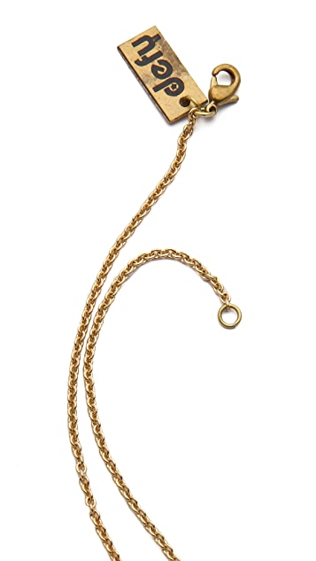 Monserat De Lucca Mini Dice Necklace