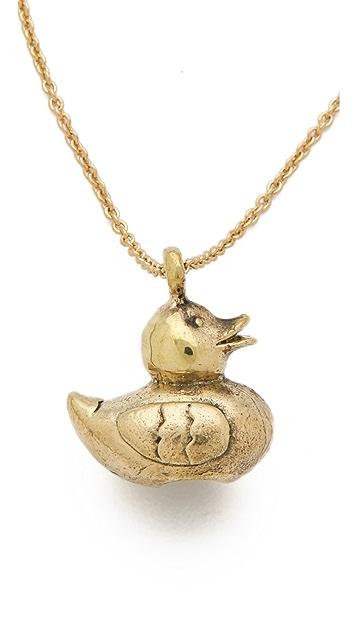 Monserat De Lucca Rubber Duckie Necklace