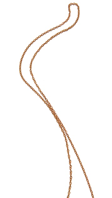 Monserat De Lucca Duck Locket Necklace