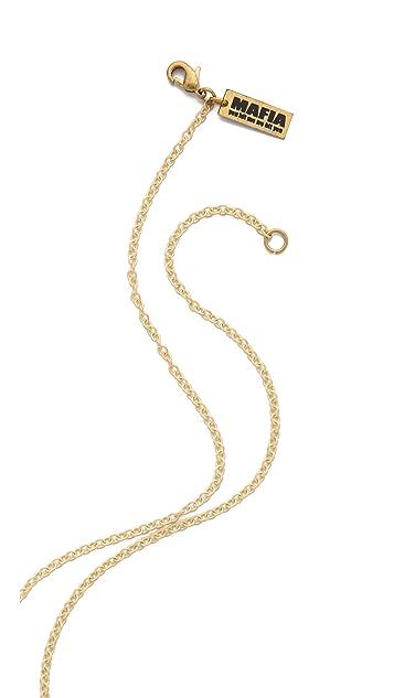 Monserat De Lucca Cherry Skulls Necklace