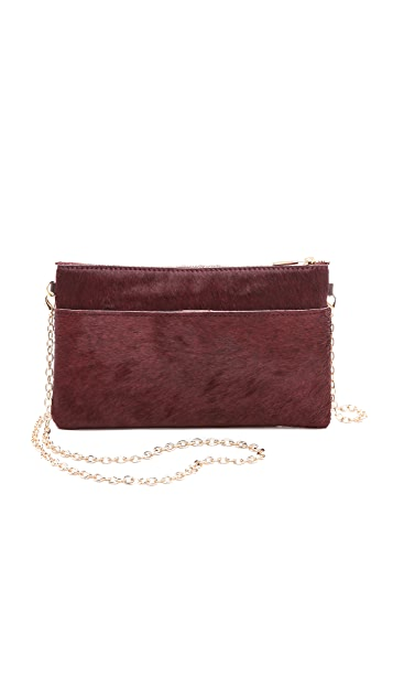Monserat De Lucca Large Pelo Haircalf Clutch
