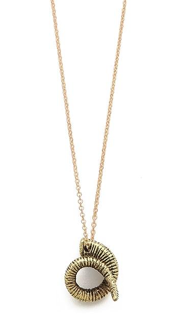 Monserat De Lucca Rams Head Necklace