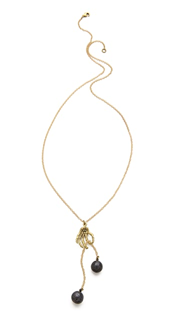 Monserat De Lucca Libra Zodiac Necklace