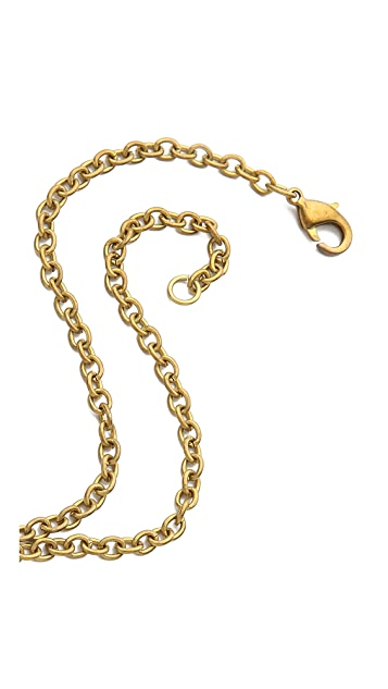 Monserat De Lucca Horse Charm Necklace