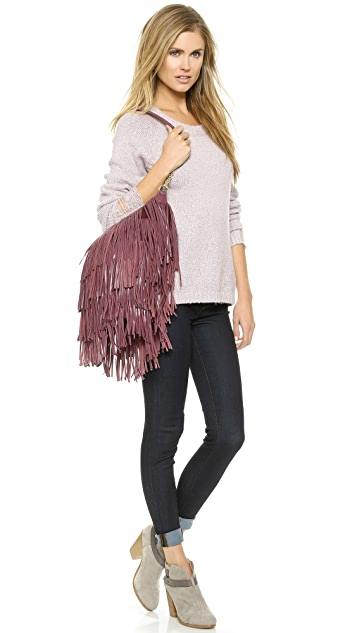 Monserat De Lucca Bochoa Fringe Shoulder Bag