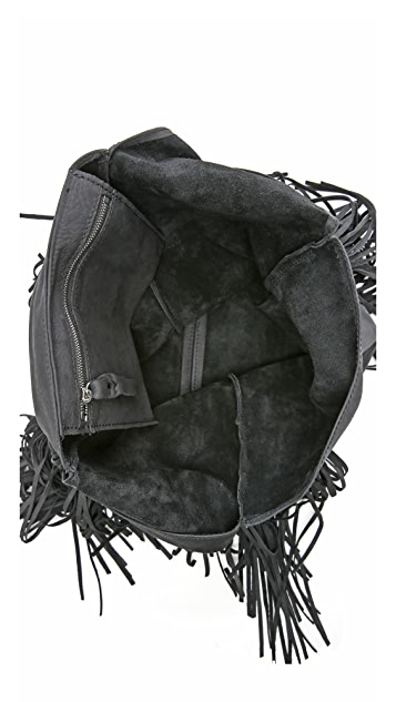 Monserat De Lucca Fringe Saba Shoulder Bag