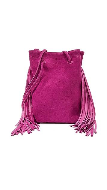 Monserat De Lucca Noe Petite Fringe Cross Body Bag