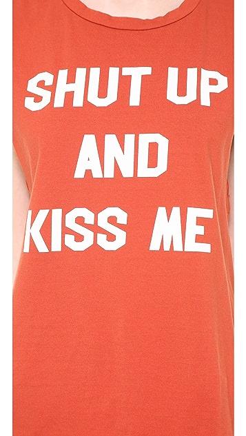 Morning Warrior Shut Up & Kiss Me! Tank