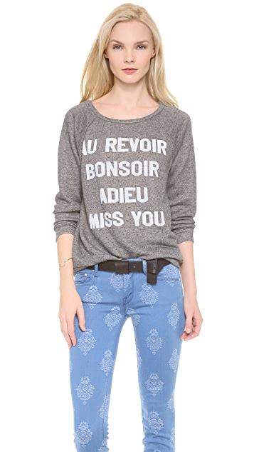 Morning Warrior Adieu Miss You Sweatshirt