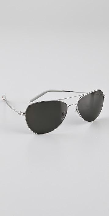 a0cfb6d0e2a66 Mosley Tribes Eyewear Colden Polarized Aviator Sunglasses