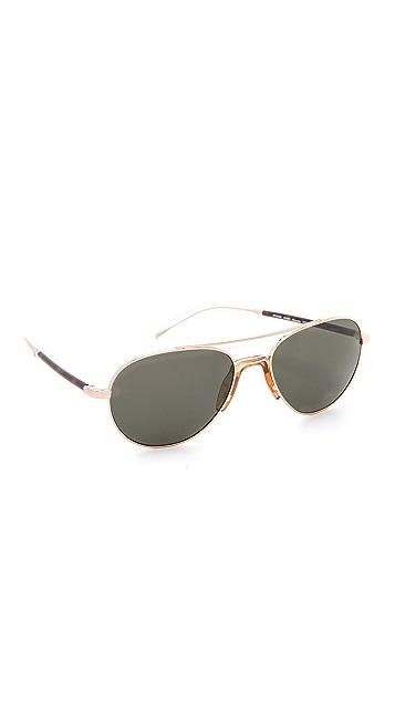 Mosley Tribes Eyewear Reynolds Polarized Aviator Sunglasses