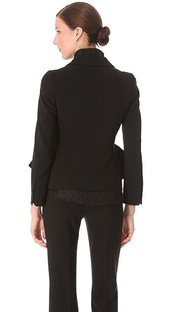 Moschino Peplum Jacket
