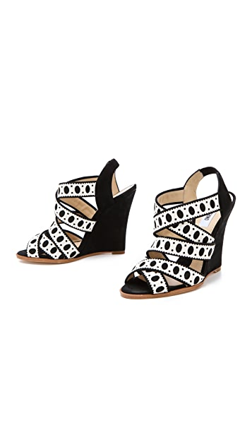 Moschino Wedge Sandals