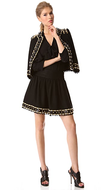 Moschino Embellished Skirt