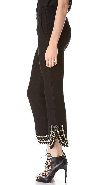 Moschino Embellished Pants