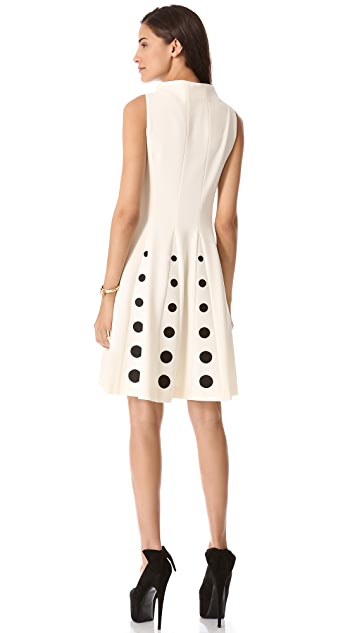 Moschino Sleeveless Crepe Dress