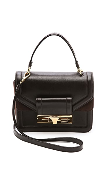 Moschino Leather Cross Body Bag