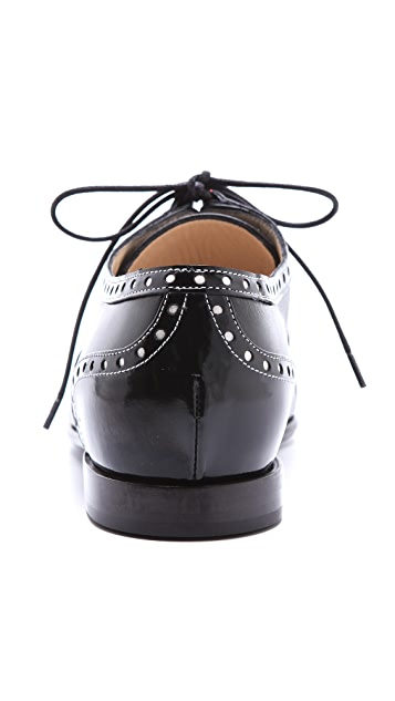 Moschino Leather Oxfords