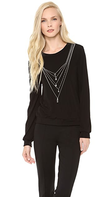 Moschino Cheap and Chic Necklace Sweater