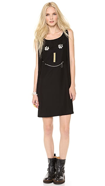 Moschino Cheap and Chic Face Dress