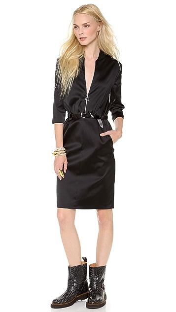 Moschino Cheap and Chic Satin Dress