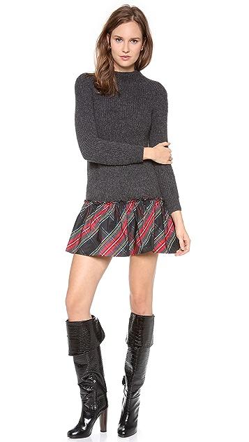 Moschino Long Sleeve Knit Dress