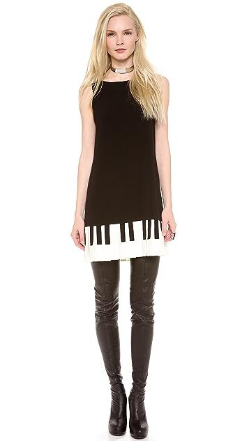 Moschino Cheap and Chic Piano Dress