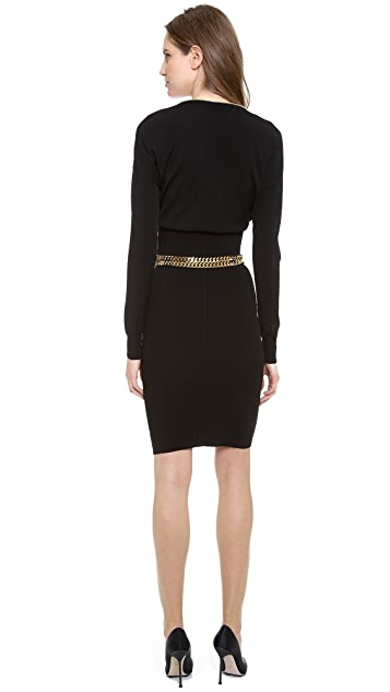 Moschino 3/4 Sleeve Dress