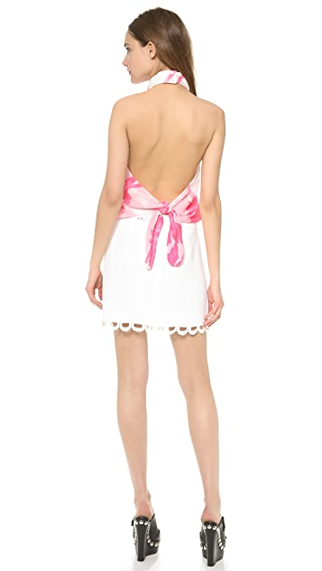 Moschino Cheap and Chic Halter Dress