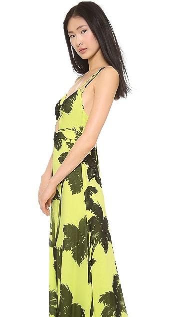 Moschino Cheap and Chic Sleeveless Maxi Dress