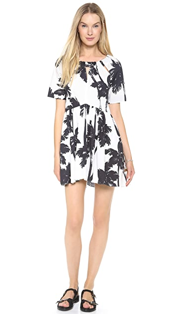Moschino Cheap and Chic Short Sleeve Dress