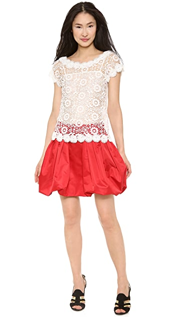Moschino Flower Lace Blouse