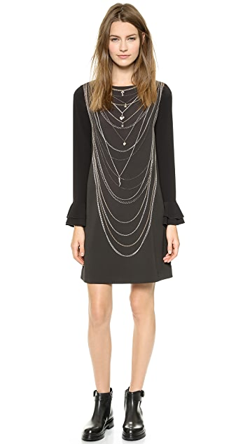 Moschino Cheap and Chic Chain Dress